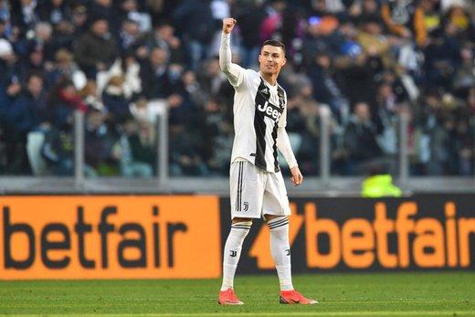 قهرمانی یووه در سوپر جام ایتالیا با گلزنی رونالدو
