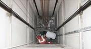 سقوط ۳ طبقهای تعمیرکار آسانسور