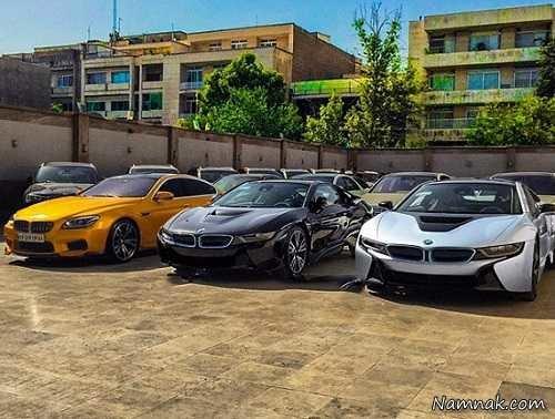 خودروهای میلیاردی تهران را اینجا ببینید