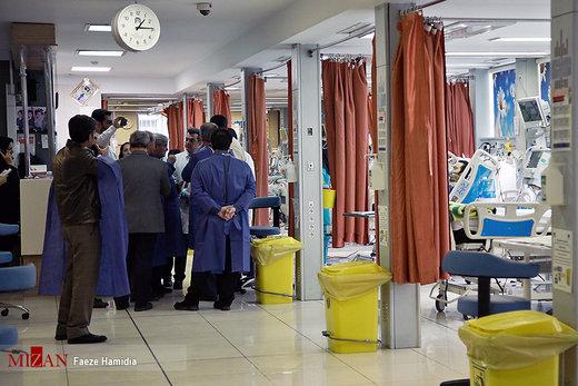 در بیمارستانی که حادثهدیدگان دانشگاه آزاد بستری اند، چه میگذرد؟