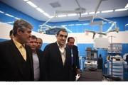 وزیر بهداشت بیمارستان ۳۲ تختخوابی شهرستان باشت کهگیلویه وبویراحمد را افتتاح کرد