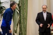 پیام روحیهبخش وزیر ورزش در آستانه دیدار سرنوشتساز با تیم لیپی