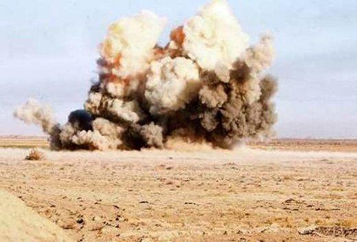 انفجار مین در دهلران یک نفر را مجروح کرد
