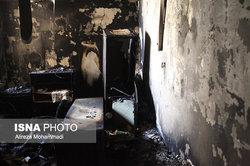فوت یکی از زنان معتاد حادثه آتشسوزی کمپ قرچک
