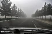 تصاویر | مهگرفتگی مشهد که باعث تاخیر پروازها شد