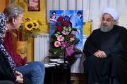 فیلم | میهمانی رئیسجمهور در منزل جانباز و خانواده شهید ارمنی