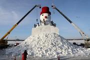 ساخت شهر یخی در چین | یک میلیون گردشگر به شهر یخی چینیها میروند