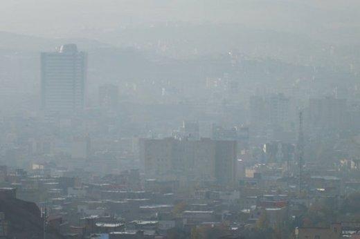 تداوم هوای ناسالم برای تهران