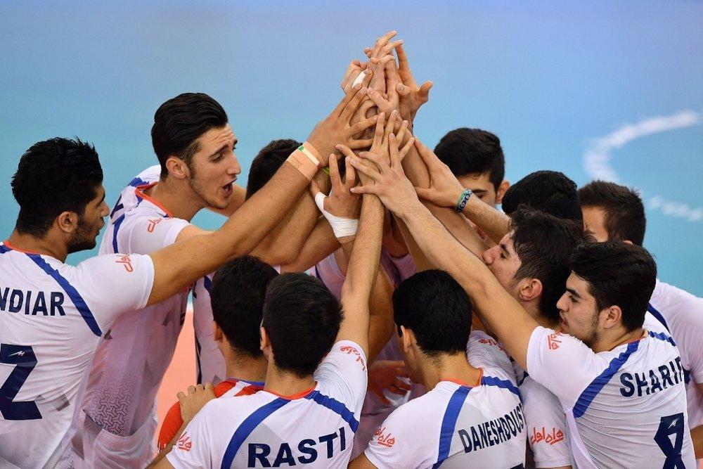 Iran junior volleyball team ranks 1st in world