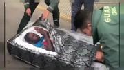 فیلم | عجیبترین روش قاچاقیان برای رد کردن ۲ مرد از مرز