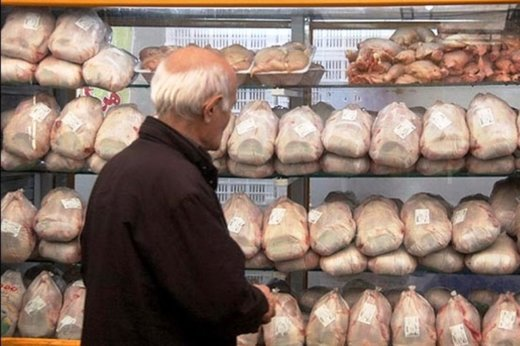 مرغ در بازار ۳۰۰ تومان ارزان شد/ قیمت روز ۱۴ هزار و ۲۰۰ تومان