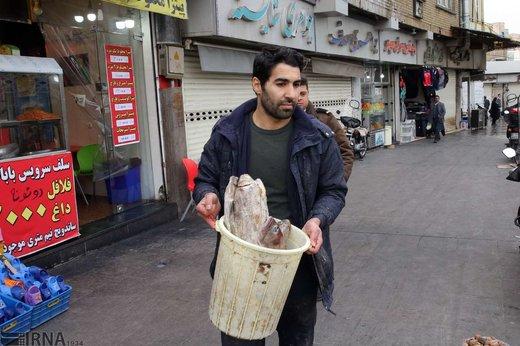 گشت تعزیرات حکومتی در میدان امام حسین تهران