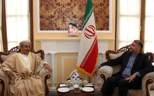 Iran parliament speaker advisor confers with Omani envoy