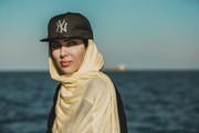 عکس | شیطونی یواشکی لیلا اوتادی پشت صحنه یک فیلم