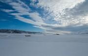 این دریاچه یخزده در سوئیس نیست، ایران زیبا است/ عکس