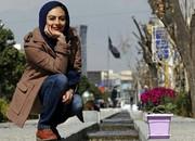 سلفی یکتا ناصر و ساره بیات در روز برفی تهران