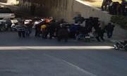 دختر ۱۳ ساله اصفهانی خود را از پل خیابان پایین انداخت