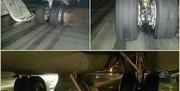 حادثه برای هواپیما در فرودگاه تبریز