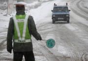برف و باران در جادههای کشور