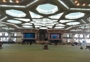 عکس | حذف نردههای جداکننده مردم و مسئولان در نمازجمعه تهران