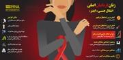 اینفوگرافیک   ۳۴ هزار زن ایرانی ایدز دارند