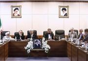 فیلم | قرائت حکم ریاست آیتالله آملیلاریجانی در مجمع تشخیص مصلحت نظام