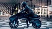 رونمایی از موتورسیکلتی که تمام اجزای آن با چاپگر سهبعدی ساختهشده