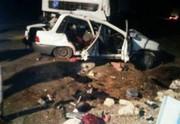 مرگ تلخ ۲ نفر در جاده های همدان