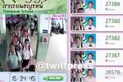 فیلم   روش جدید حضور و غیاب در مدارس تایلند