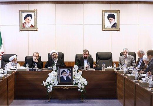 فیلم   قرائت حکم ریاست آیتالله آملیلاریجانی در مجمع تشخیص مصلحت نظام