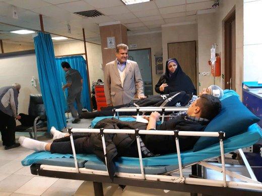 جزییات تصادف دانشآموزان تهرانی/ عکس