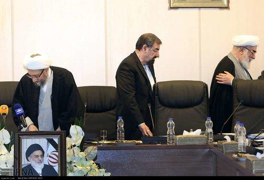 غایبان جلسه امروز مجمع تشخیص چه کسانی بودند؟