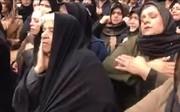 فیلم | عزاداری مادران و خانواده قربانیان کشتی سانچی مقابل شرکت ملی نفتکش