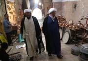 حضور امام جمعه یزد در بازار قدیم /عکس