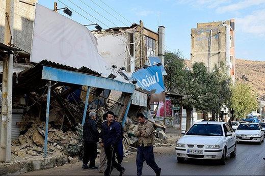 فیلم   قصرشیرین لحظاتی پس از زلزله ۵.۹ ریشتری