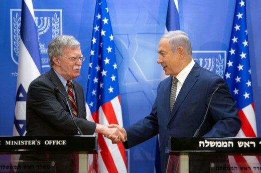 درخواست نتانیاهو در نشست خبری با بولتون