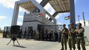 کنترل گذرگاه رفح به دست حماس افتاد