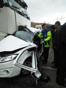 ۳ کشته حاصل تصادف کامیون با تیبا در محور گچساران-باشت