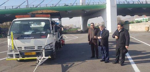 احداث پارکسوار خودروهای برونشهری دروازه تهران