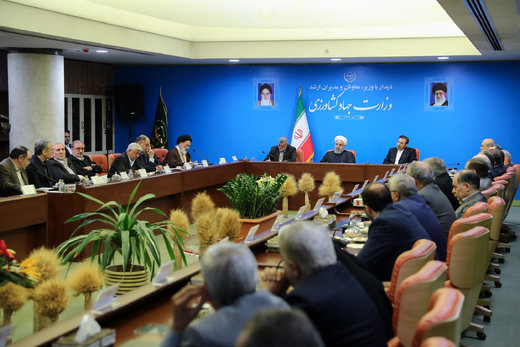 Rouhani: Working towards self-sufficiency in agricultural, livestock inputs essential