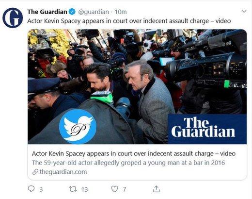 کوین اسپیسی به جرم آزار جنسی تفهیم اتهام شد!