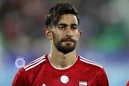 ازدواج علی قلیزاده با بازیکن فوتبال بانوان ملوان / عکس