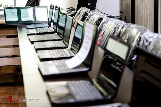 دستگیری سارق و مالخر لپ تاپهای مجتمعهای فروش کامپیوتر خیابان ولیعصر(عج)