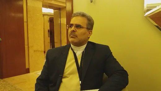 فیلم   سفیر ایران در هند: روابط ایران و هند تحت تاثیر تحولات مقطعی قرار نمیگیرد