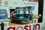 فر آشپزی خورشیدی با گرمای ۵۵۰ درجه سانتیگراد در سیایاس ۲۰۱۹/ عکس