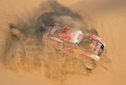تصاویر | مسابقات رالی در مسیر ۵۰۰۰ کیلومتری صحرا