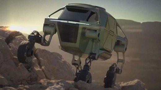 فیلم | رونمایی هیوندایی از خودروی چهارپای عجیب و غریبش!