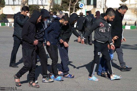 دستگیری 46 باند سارقین حرفه ای در پایتخت