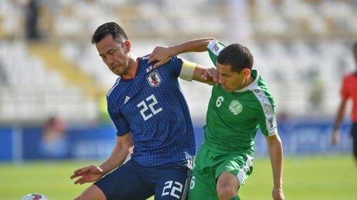 فیلم   روز سخت ژاپنیها مقابل ترکمنستان؛ ۵ گل بازی را ببینید