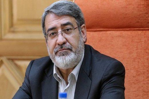 وزیر کشور دوباره عازم اهواز شد